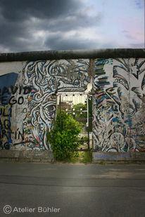 Berlin, Mauer, Landschaft, Politik