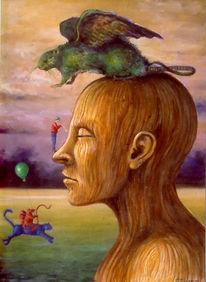Spielen, Surreal, Liebe, Tiere