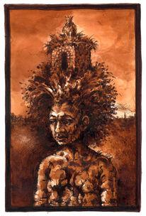 Figur, Natur, Woanders, Zeichnung
