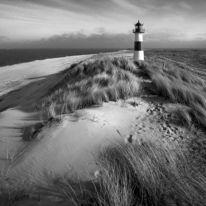 Sand, Landschaft, Dünen, Schwarzweiß