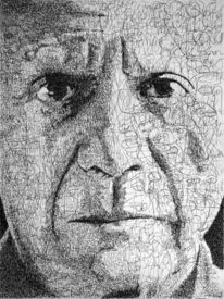 Picasso, Poesie, Text, Portrait