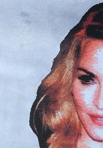 Madonna, Digitale malerei, Portrait, Malerei
