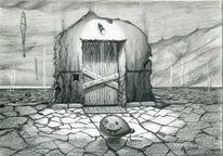 Hölle, Aufzug, Aufblasbarer ball, Zeichnungen