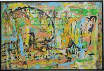 Acrylmalerei, Gemälde, Abstrakt, Hoffnung