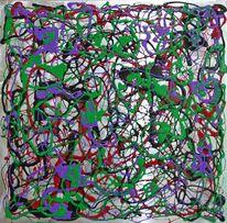 Abstrakt, Welt, Gemälde, Tiere