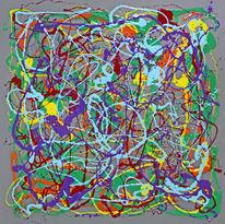 Streifen, Menschen, Abstrakt, Epoxid