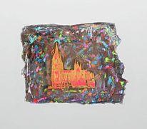 Acrylmalerei, Abstrakt, Epoxidharz, Kirche