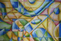 Abstrakt, Geometrisch ecken kanten, Geometrie, Ecke