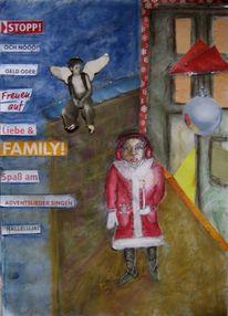 Weihnachten, Trauer, Kind, Berlin