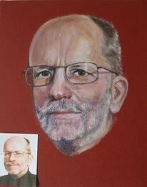 Portrait, Berlin, Mann, Malerei