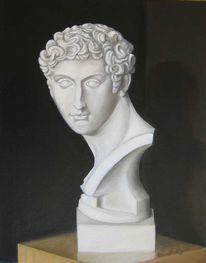 Gemälde, Portrait, Weiß, Giuliano de medici