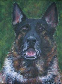 Hund, Malerei,