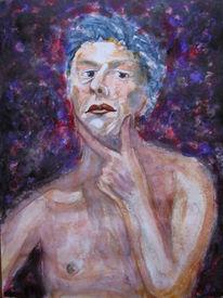 Aquarellmalerei, Berlin, Portrait, Aquarell