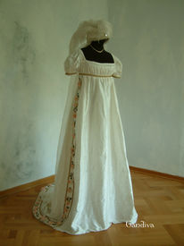 Historische, Brautkleid, Mode, Design