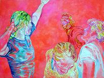 Arbeiten, Malerei, Party,