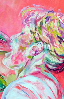 Party, Arbeiten, Malerei, Ausschnitt