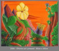 Malerei, Schauspieler, Trennung, Pflanzen