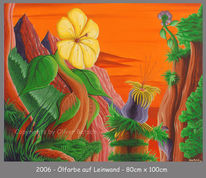 Ölmalerei, Satt, Landschaft, Malerei