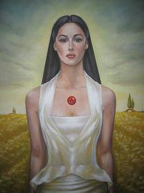 Italien, Gemälde, Puglia, Portrait