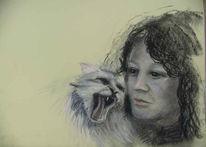 Katze, Portrait