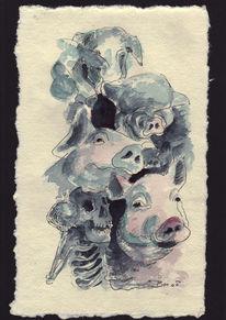 Skizzenbuch, Knall, Schwein gehabt, Bombe