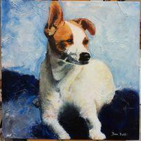 Auftrag, Portrait, Tiere, Malerei