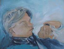 Mutter, Kind, Geburt, Malerei