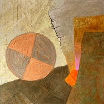 Acrylmalerei, Spachteltechnik, Abstrakte malerei, Mischtechnik
