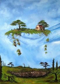 Malerei, Surreal, Idylle
