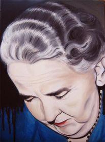 Figural, Frau, Tod, Portrait