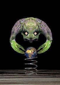 Erde, Zeit, Digital, Natur