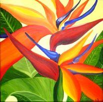 Naturspiele, Blumen, Ölmalerei, Malerei