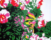 Sommer, Pop art, Natur, Blumen