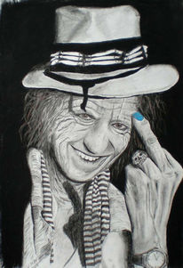 Keith, Richards, Grafik, Roling