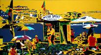Pop art, Wasser, Urlaub, Malerei