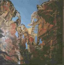 Deutsch, Ölmalerei, Multireal, Transversal