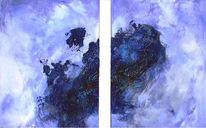 Blau, Himmel, Naturgewalt, Abstrakt