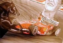 Schumi, Formel 1, Hengst, Figural