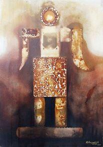 Figurativ, Heinz sterzenbach, Surreal, Vu 111 mann