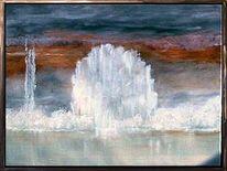 Wasser, Gefroren, Eis, Baum