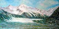 Krokuswiesen, Südtirol, Malerei, Meine bilder