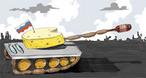 Krieg, Aggression, Russland, Lebensmittel
