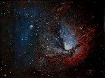 Triffid, Galaxie, Universum, Stern