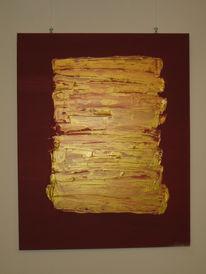 Feuer, Gold, Abstrakt, Modern