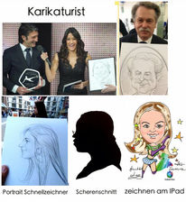 Karikaturist rostock, Messe stuttgart, Michael tryanowski, Messe freiburg