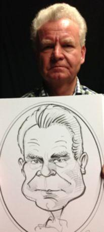 Portraitzeichner rostock, Messe frankfurt, Karikatur, Caricaturist