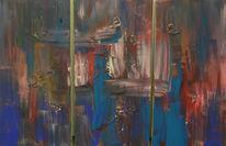 Tryptichon, Malerei, Abstrakt