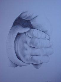 Zeichnung, Zeichnungen, Hand