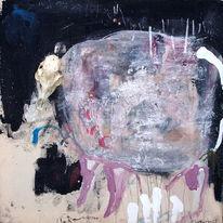 Abstrakt, Assemblage, Malerei,