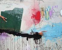 Acrylmalerei, Puppe, Assemblage, Malerei